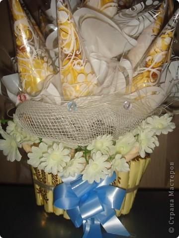 Корзинка с конфетами фото 3