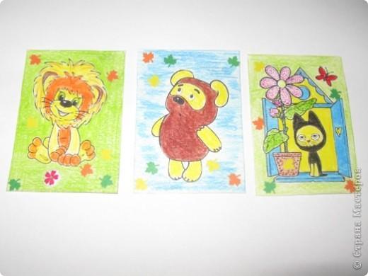 Рисованная серия, навеянная хорошей осенней погодой и желанием порисовать. фото 1