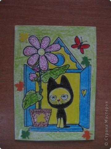 Рисованная серия, навеянная хорошей осенней погодой и желанием порисовать. фото 4