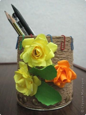Первый опыт изготовления цветов из бумаги фото 1