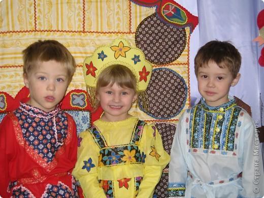 костюм Лисички (пошит из старого халата,тесемочек и отделан мехом) фото 4