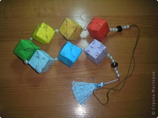 Всем привет! Сынулька учиться в польском классе (первый). Вот и я учу с ним слова. Оказываеться по польски кубики - клёцки. И еще они в классе рисовали радугу красками и карандашами. Вот и созрело такое решение. Получились музыкальные клёцки :)) фото 3