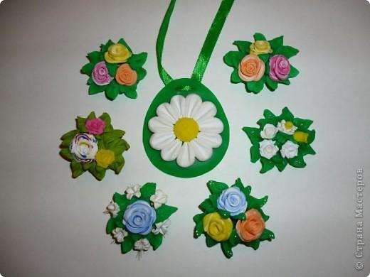 Мне очень понравилось делать такие кулончики,это очень легко и красиво.   фото 1