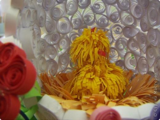 Квиллинговое яйцо фото 3