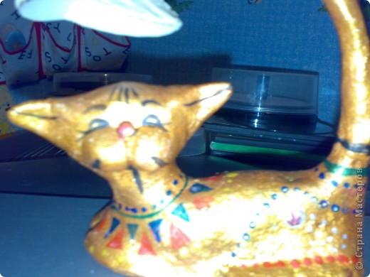 Это кошка вьетнамская. мне понравилась очень, решила воспроизвести. Получилось или нет, вам судить. фото 2