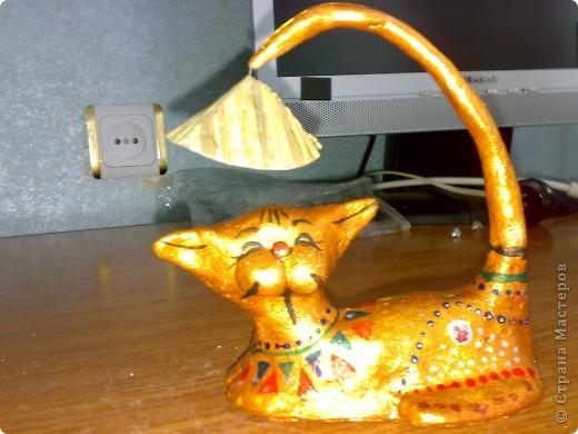 Это кошка вьетнамская. мне понравилась очень, решила воспроизвести. Получилось или нет, вам судить. фото 1