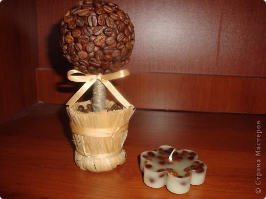 Вот такой подарочный набор получился у меня. Первый раз делала шоколадницу и свечку. Хочу сказать - процес ооооочень увлекательный. Думаю он у меня не последний. фото 5