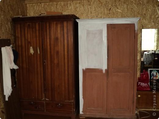 шкафы до переделки фото 1