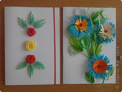 Вот такие открытки мы с детьми сделали ко Дню учителя фото 10