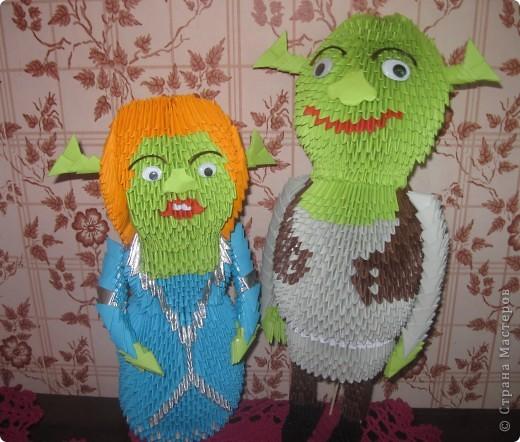 Шрэк и Феона