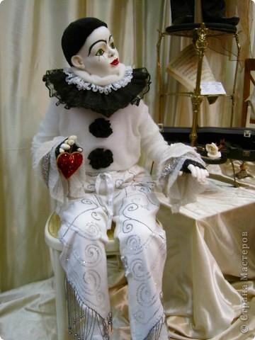 """""""Пьеро"""" кукла Натальи Мацегора. Кукол Натальи отличает размер-они выполнены,практически,в натуральную величину. фото 1"""