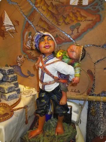 """""""Пьеро"""" кукла Натальи Мацегора. Кукол Натальи отличает размер-они выполнены,практически,в натуральную величину. фото 4"""