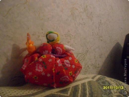 Кукла оберёг. Кукла травница фото 3