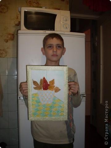 букет из листьев фото 1