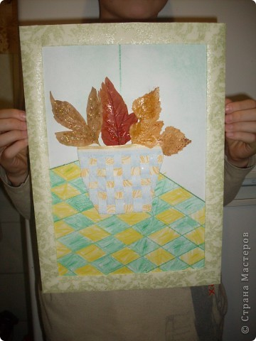 букет из листьев фото 3