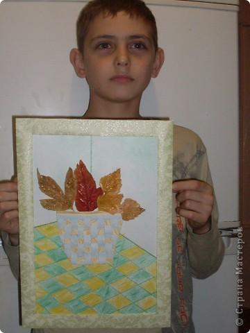 букет из листьев фото 2