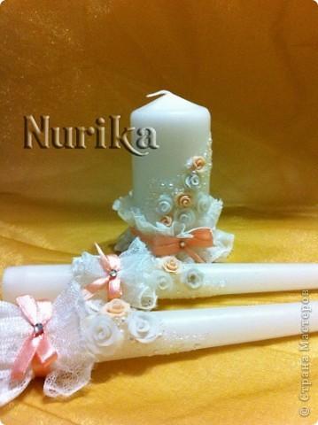 Свечи свадебные фото 2