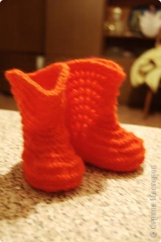 Сапожки на маленькие ножки, чтоб бегать по дорожке... фото 4