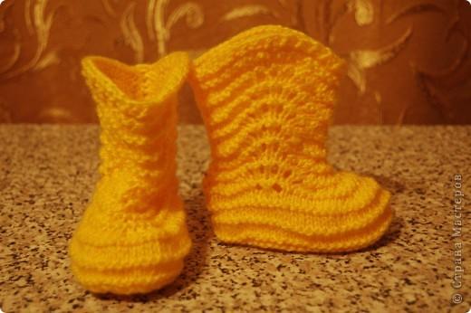 Сапожки на маленькие ножки, чтоб бегать по дорожке... фото 5
