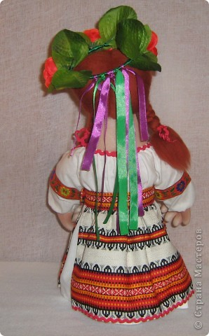Доброго времени суток СТРАНА. Сегодня я хочу показать новую работу.  Попросили в детском саду сделать кукол в украинском стиле, для краеведческого уголочка. В  результате моих стараний, родилась вот такая парочка. Воспитатели остались довольны.  Всем приятного  просмотра. фото 10