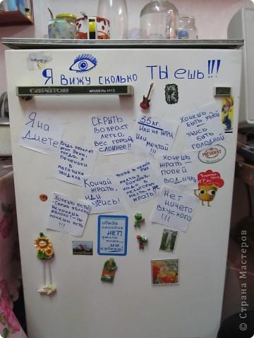 издевательство над холодильником)))