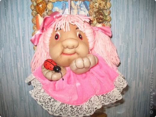 Моя первая кукла из капрона. фото 1