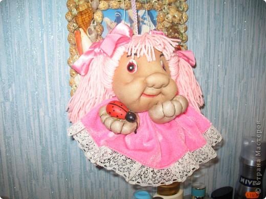 Моя первая кукла из капрона. фото 2