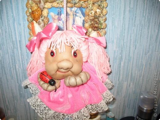 Моя первая кукла из капрона. фото 3