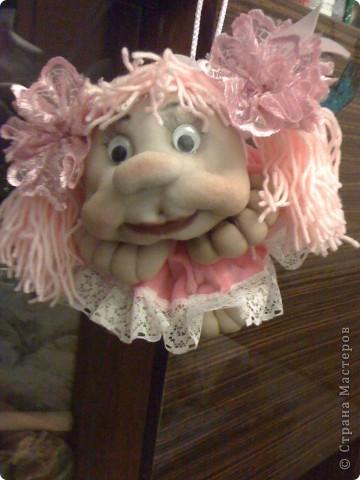 Моя первая кукла из капрона. фото 4
