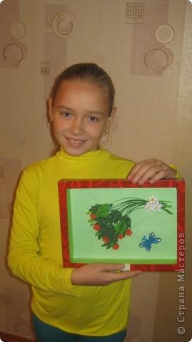 """Совместная работа с моей ученицей .. """" Краски осени """"- для выставки  в школе фото 4"""