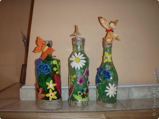 Цветочно-бутылочная фантазия фото 1