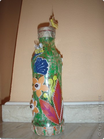 Цветочно-бутылочная фантазия фото 3