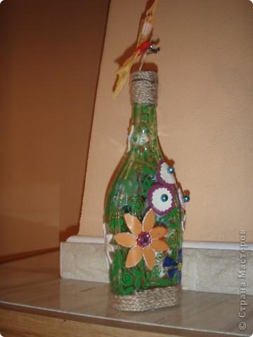 Цветочно-бутылочная фантазия фото 4