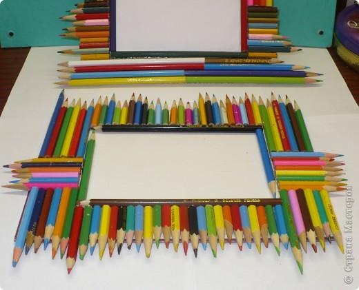 За последний год накопилось много цветных карандашей, которые быстро пошли в дело. фото 4
