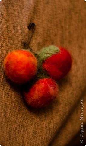 брошь помидорка фото 2