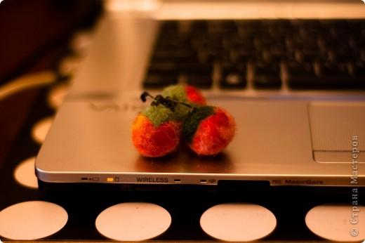 брошь помидорка фото 3