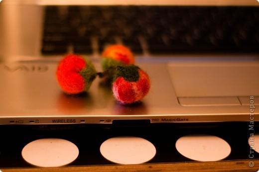 брошь помидорка фото 1