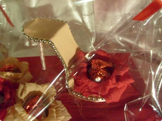 Конфетная туфелька фото 3