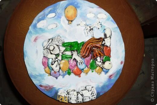 Очень нравится творчество художника Юрия Мацик(а). Это третья работа по его картинам http://stranamasterov.ru/node/237319, http://stranamasterov.ru/node/215547. Расскажу и покажу, ка я это красила... фото 8