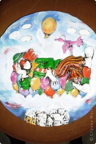 Очень нравится творчество художника Юрия Мацик(а). Это третья работа по его картинам http://stranamasterov.ru/node/237319, http://stranamasterov.ru/node/215547. Расскажу и покажу, ка я это красила... фото 9