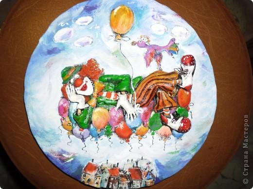 Очень нравится творчество художника Юрия Мацик(а). Это третья работа по его картинам http://stranamasterov.ru/node/237319, http://stranamasterov.ru/node/215547. Расскажу и покажу, ка я это красила... фото 10