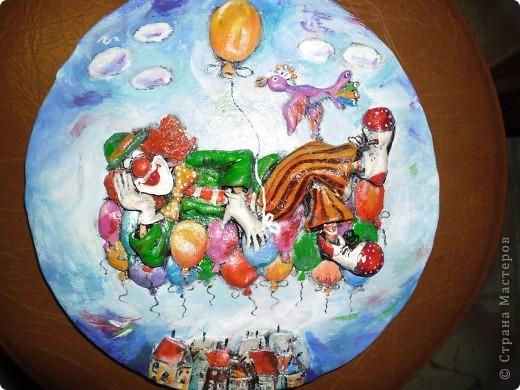 Очень нравится творчество художника Юрия Мацик(а). Это третья работа по его картинам http://stranamasterov.ru/node/237319, http://stranamasterov.ru/node/215547. Расскажу и покажу, ка я это красила... фото 1
