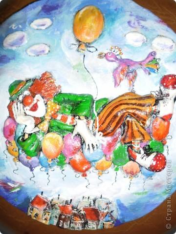 Очень нравится творчество художника Юрия Мацик(а). Это третья работа по его картинам http://stranamasterov.ru/node/237319, http://stranamasterov.ru/node/215547. Расскажу и покажу, ка я это красила... фото 11