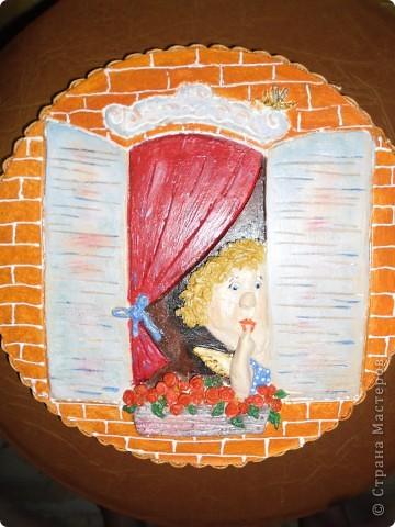 Очень нравится творчество художника Юрия Мацик(а). Это третья работа по его картинам http://stranamasterov.ru/node/237319, http://stranamasterov.ru/node/215547. Расскажу и покажу, ка я это красила... фото 15