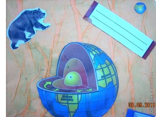 Обложка для тетради по истории Федотовой Анастасии. Сделана по мотивам голландского художника Пита Мондриана.  Буквы из фигурок, взятых с резинки для волос. фото 4