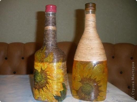 Добрый вечер! Хочется попробовать все и сразу. Вот такие они первые бутылочки. Буду рада любым комментариям.)))