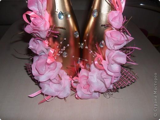 Купила готовые лепестки, собрала цветочки...Выставляю на ваш суд то, что в итоге получилось... фото 3