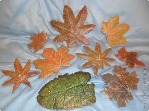 Осенний листопад фото 1