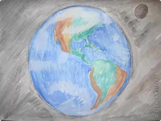 """""""Миссия на марс""""  тема: """"Космос вокруг нас"""". Рисунок в сад. фото 2"""