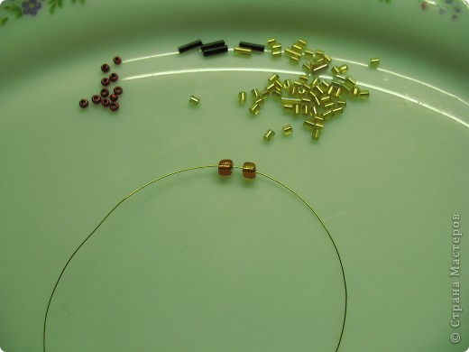 Как быстро и легко сплести стрекозу из бисера (мастер-класс) фото 3.